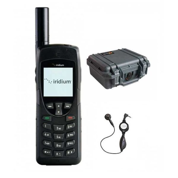 Available accessories with an Iridium satellite phone