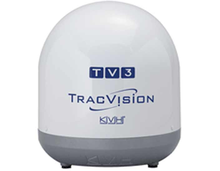TracVision TV3 by KVH for marine satellite television