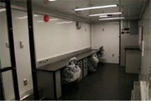 The large inside of the ECT-20 with two workstations