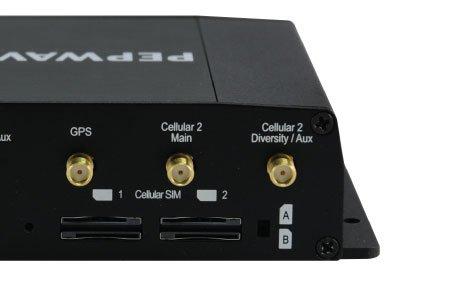 Dual sim slots on the Pepwave Max HD2
