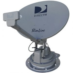 DIRECTV Slimline SK-SWM3 satellite TV antenna for RV