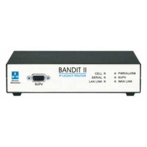 Front view of BANDIT II legacy router