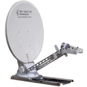 DataSat 1200 mobile satellite dish