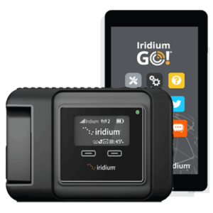 Iridium Go satellite connectivity device