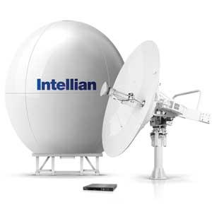Intellian v240c marine VSAT satellite internet dish