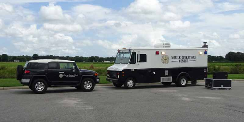 Public safety and first response satellite internet