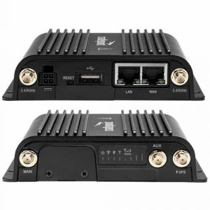 Cradlepoint IBR900 router front and back view