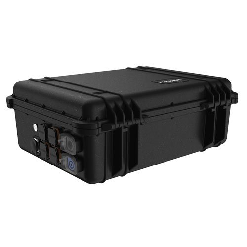 Pepwave PDX case closed and locked