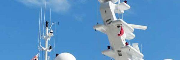 Marine satellite television